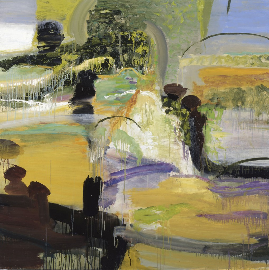 Marsh; oil on canvas, 60x60; 2001