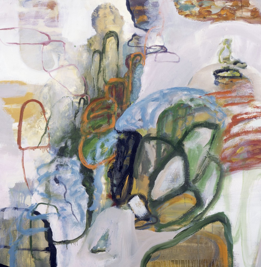 What Water Brings II; oil on canvas, 2003, 36x36